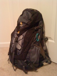 My new Deuter ACT Trail 32