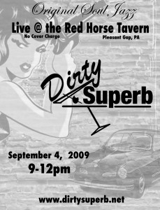 Dirty Superb at the Red Horse Tavern