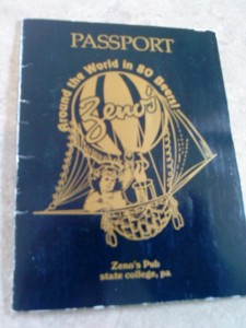 My Zeno's Passport