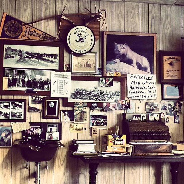 Barbershop Artifacts