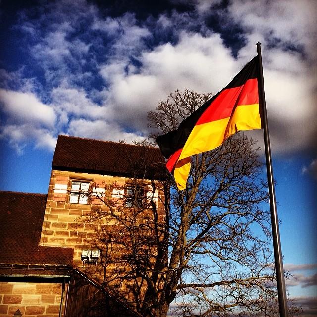 Atop Nürnberg Castle