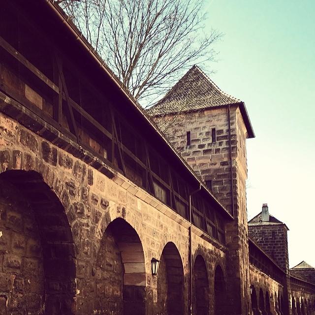 Old City Wall, Nürnberg