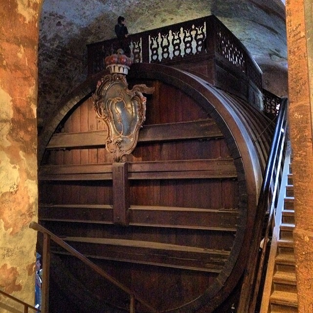 World's Largest Wine Barrel