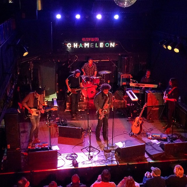 Jake Clemons at Chameleon Club