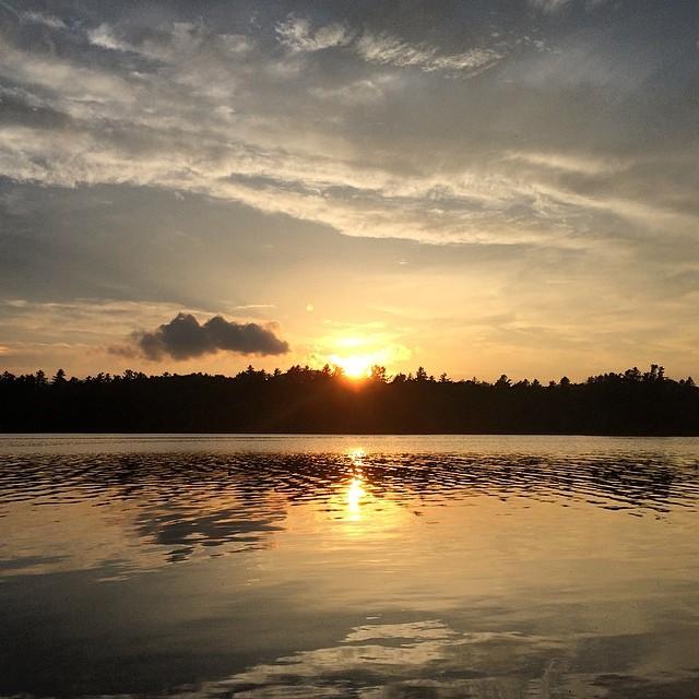Rollins Pond Sunset
