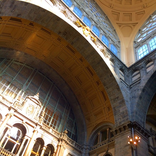 Centraal Station's Dome, Antwerp