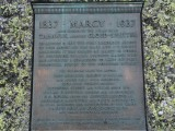 Plaque at the summit of Mt. Marcy
