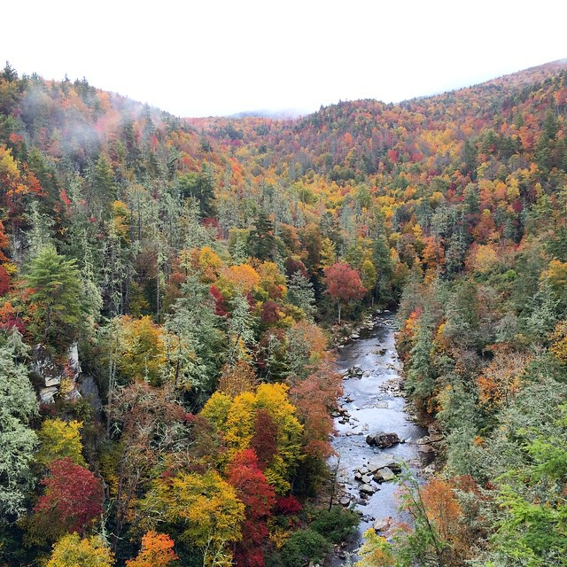 The Linville River Gorge