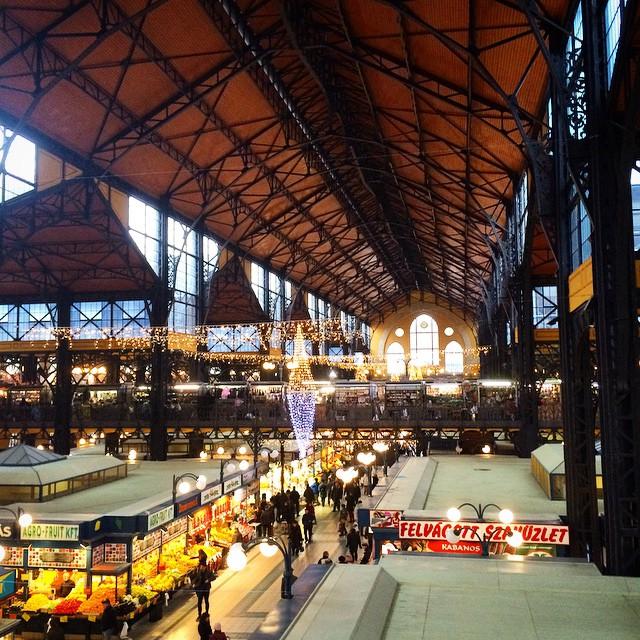 Great Market Hall, Budapest