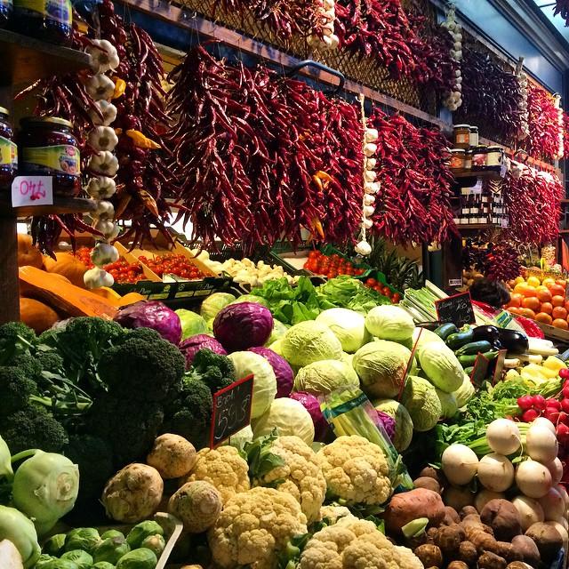 Market Produce, Budapest