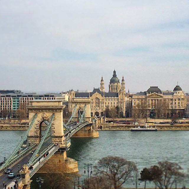 The Széchenyi Chain Bridge and St. Stephen's Basilica