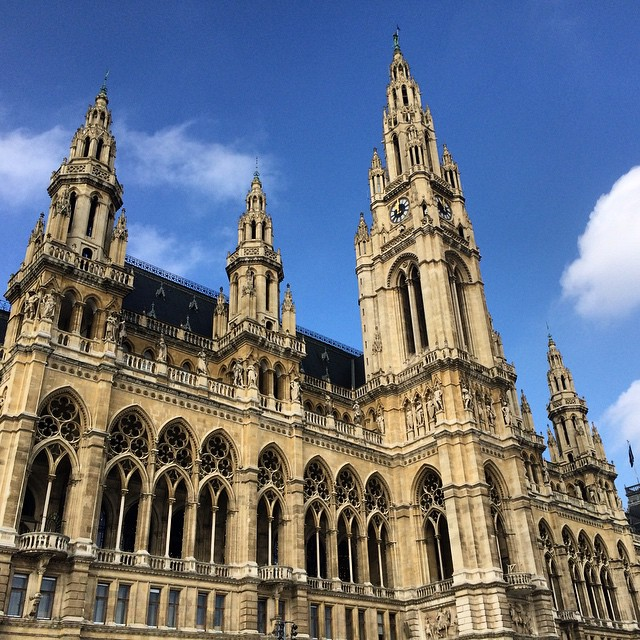 "Town Hall, or ""Rathaus"" (Vienna)"