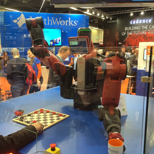 MathWorks Demo (embedded world 2015)