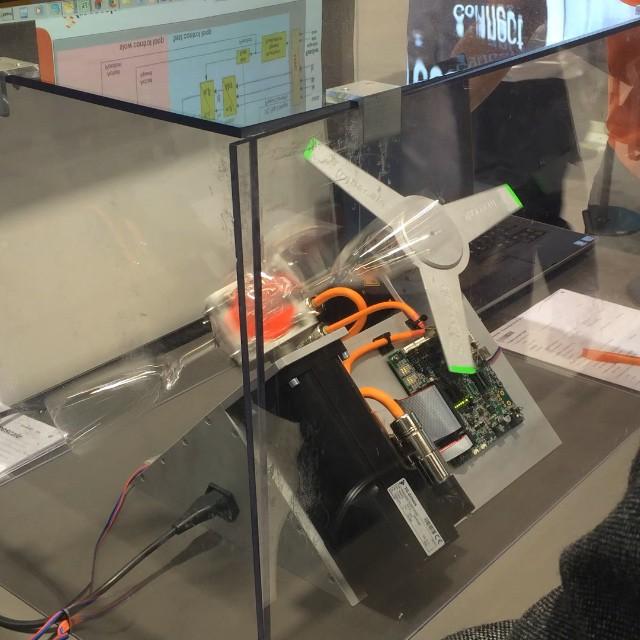 Precision Motor / Safety Demo (embedded world 2015)