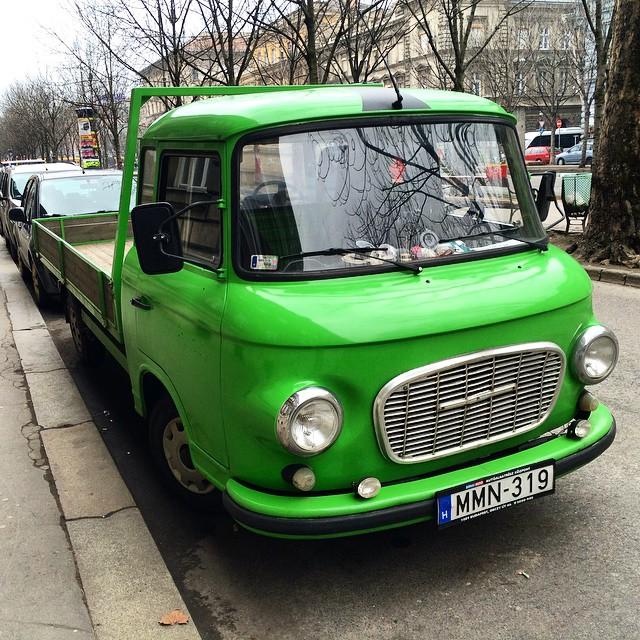 European Pickup Truck