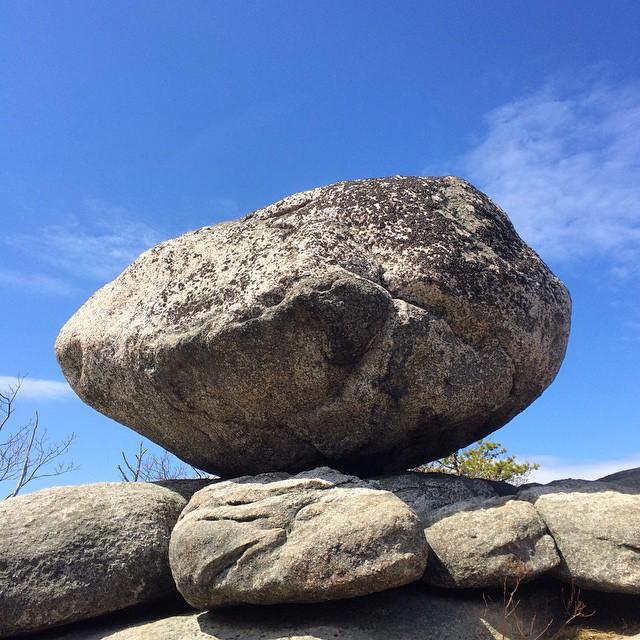 Boulder on Old Rag