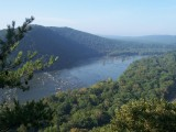 The Potomac River from Weverton Cliffs, North of Harpers Ferry (2006)