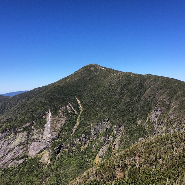 View of Mount Marcy from Little Haystack
