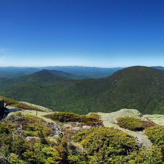 The View Southwest from Haystack Mountain