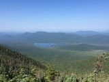 View from Macomb Mountain of Elk Lake in the West
