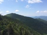 Looking back at Macomb Mountain