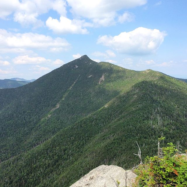 View of Buck-Horn and Dix Mountain from Hough Peak