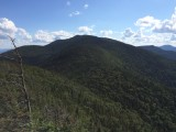 View of Nippletop from the summit of Dial Mountain