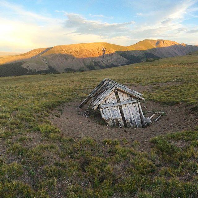 Uncompahgre Cabin Ruins