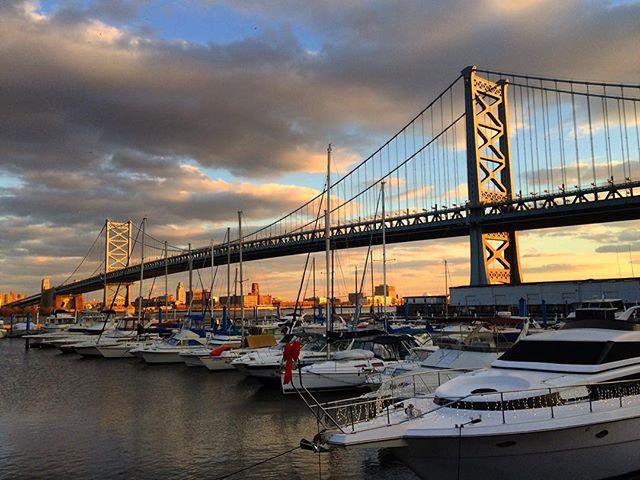 Ben Franklin Bridge, Philadelphia