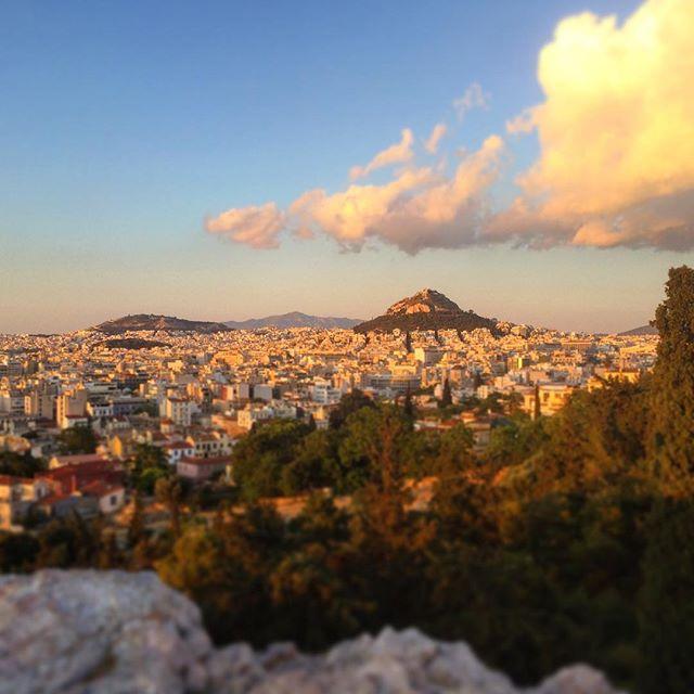 Likavittos Hill, Athens