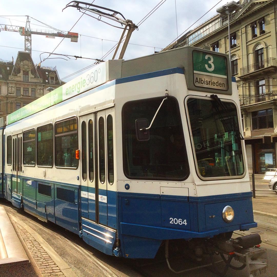 Line 3 Tram, Zürich
