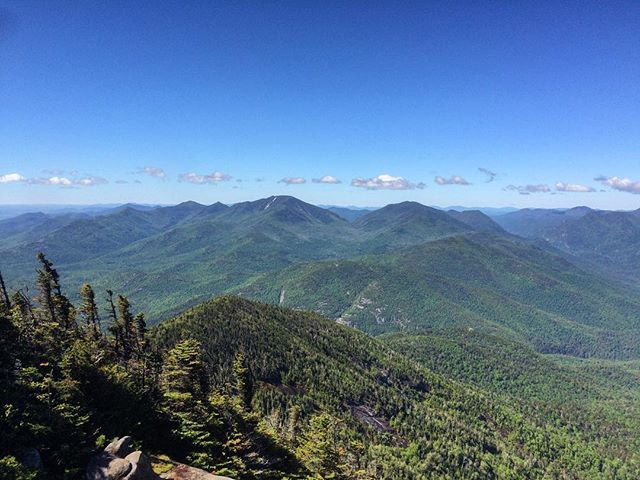 Dix Range and Colvin Range as seen from Giant Mountain