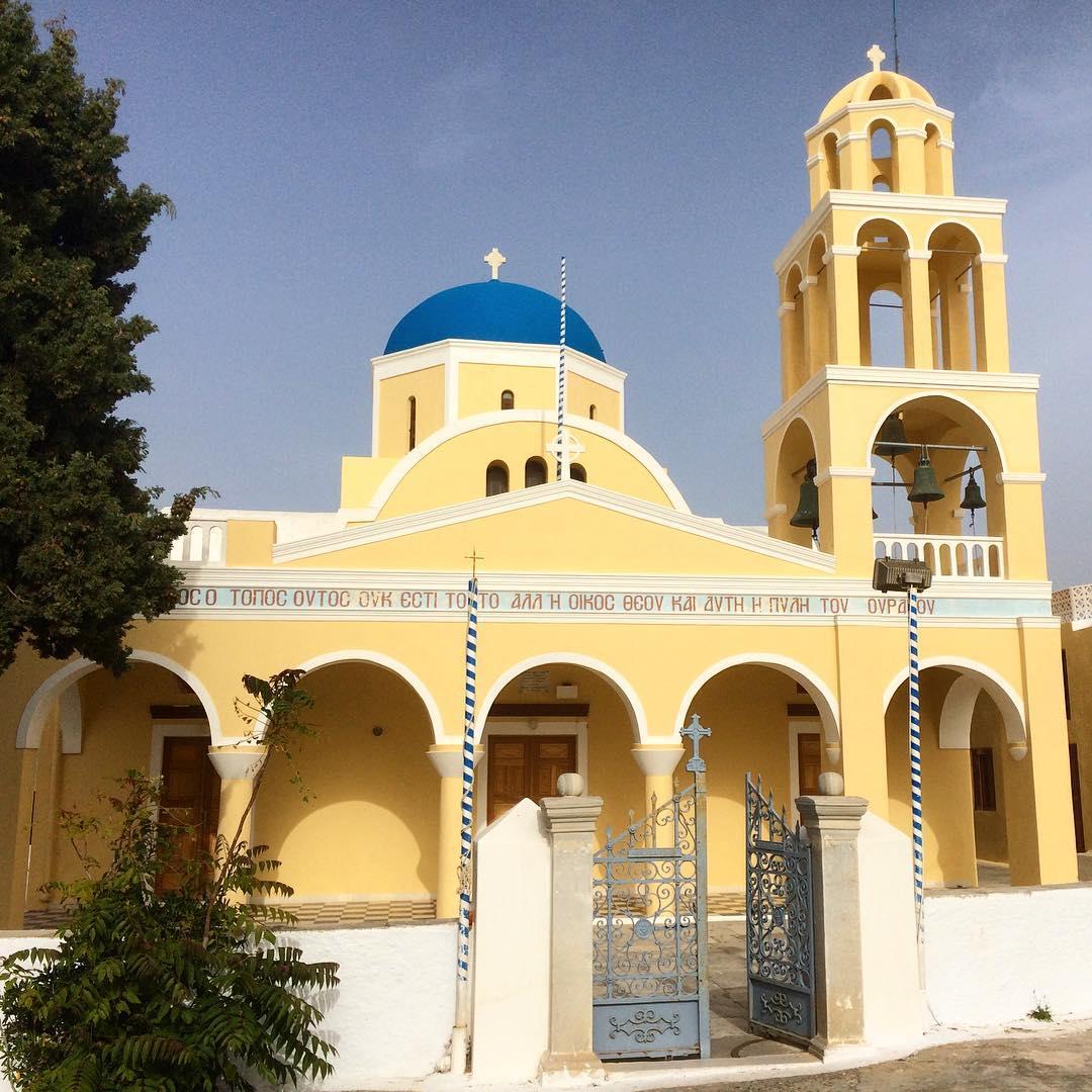 The Church of St. George in Oia, Santorini