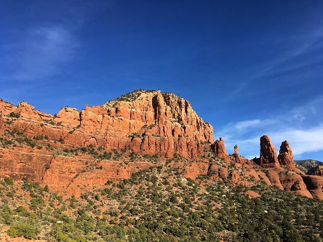 The Eastern Butte of Twin Buttes, Sedona