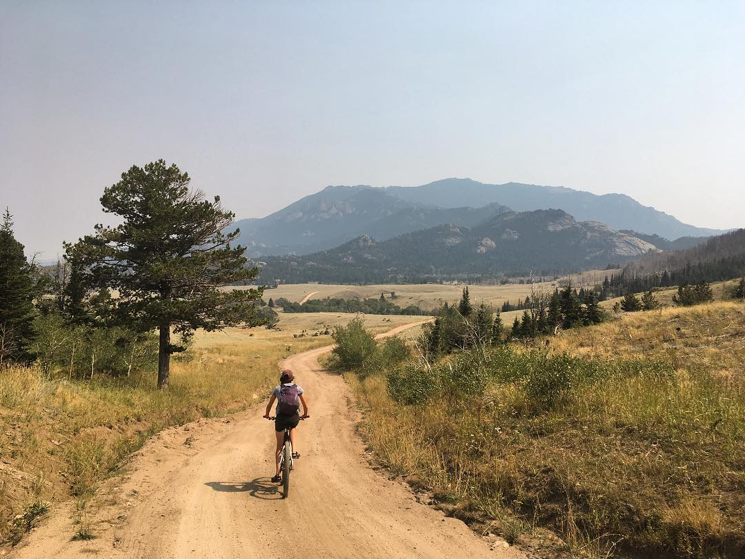 Mountain Biking in Medicine Bow