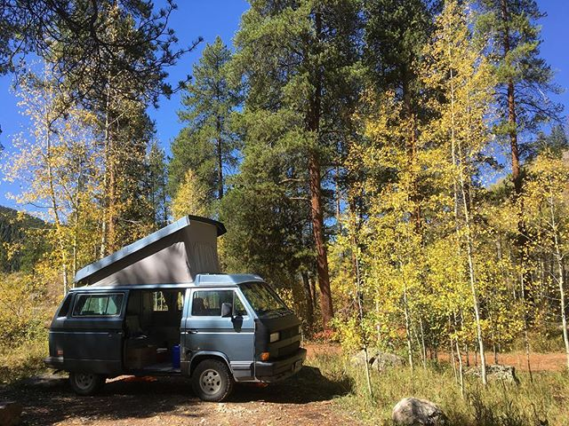 Vanning at Elk Wallow Campground