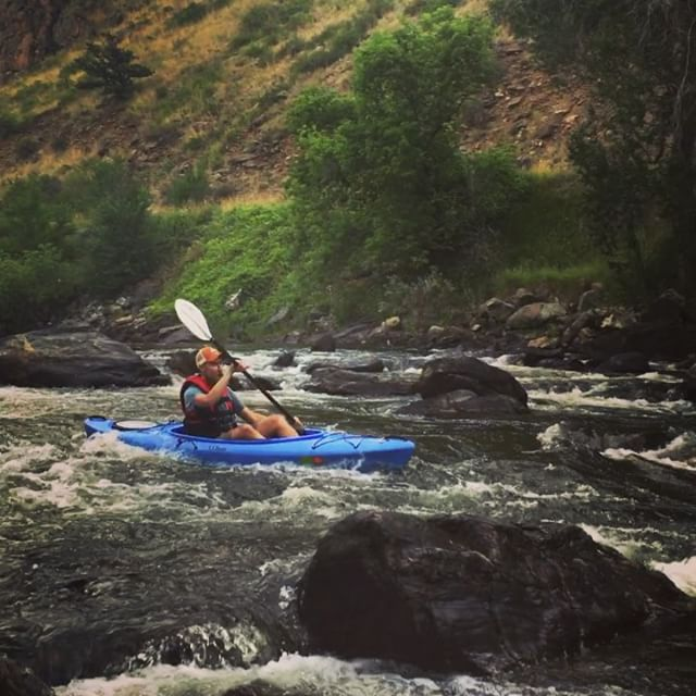 Kayaking the Poudre!